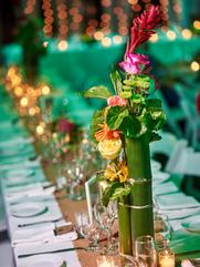 Bamboo Tropical Floral Arrangement