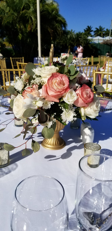 Small Low Floral Centerpiece