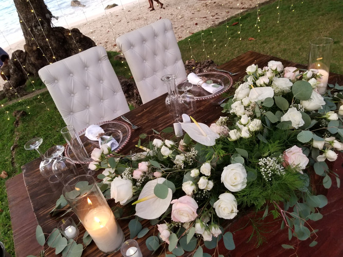 Sweetheart Table Floral