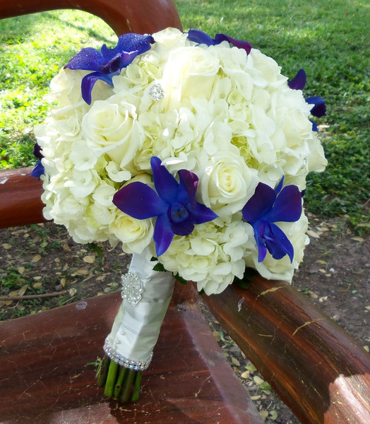 Rose Hydrangae and Orchid Bouquet