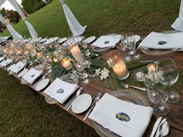 Wooden Tablescape