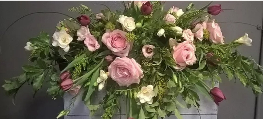 Rose, Tulip & Freesia Spray