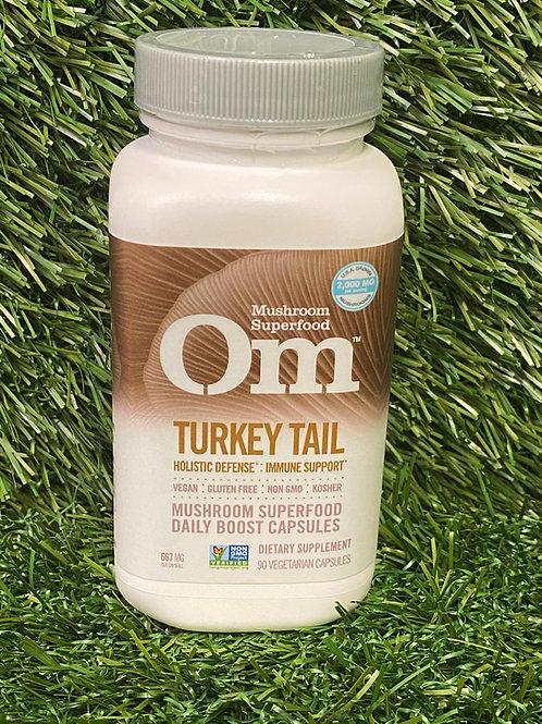Om Turkey Tail capsules