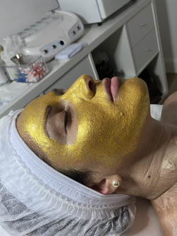 Gold Hydration Facial Mask
