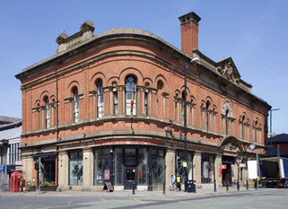 Former Deansgate Free Library, Deansgate/Liverpool Road