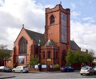 St John's Church, Ayres Rd, Old Trafford