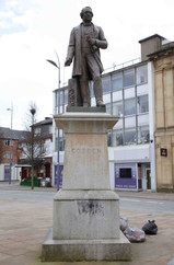 Richard Cobden, St Peter's Square, Stockport