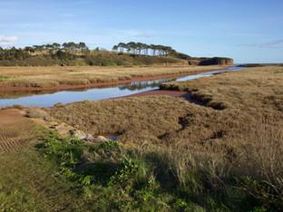 River Otter and Budleigh Salterton, Devon