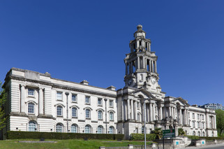Stockport Town Hall, Wellington Road South, Stockport