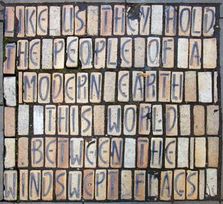 Pavement poem, Tib Street, Northern Quarter
