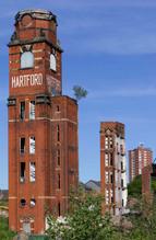 Demolition of Hartford Mill, Oldham