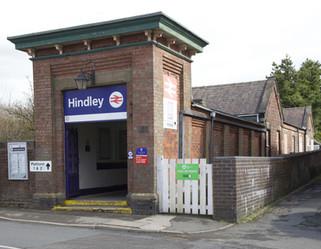 Hindley railway station, Ladies Lane, Hindley, Wigan