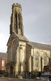 St Maries Roman Catholic church, Manchester Road, Bury