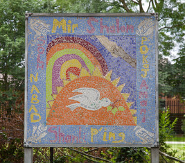 Mosaic, Peace Garden, Moston Lane