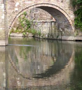 Ringley Bridge, Ringley