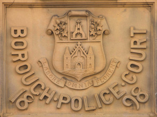 Eccles Police Court, Irwell Place, Eccles, Salford