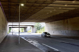 Underpass under the M60 motorway, Worsley, Salford