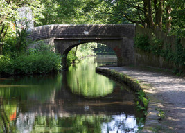 Bridge, Huddersfield Narrow Canal, Lower Arthurs, Saddleworth