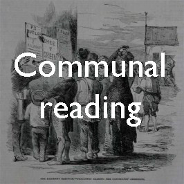Communal reading and everyday life