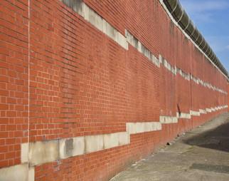 Strangeways Prison wall, Southall Street, Strangeways