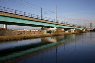 Metrolink tram viaduct, Pomona
