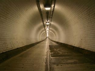 Woolwich tunnel, London