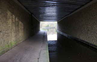 Tunnel under the Peak Forest Canal near Marple, Stockport