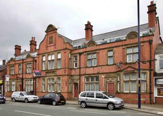 Former police station, Stockport Road, Denton