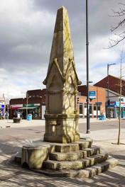 Drinking fountain and memorial, Elliott Street, Tyldesley
