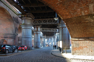 Railway viaducts, Castlefield basin