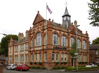 Withington Town Hall, Lapwing Lane, West Didsbury
