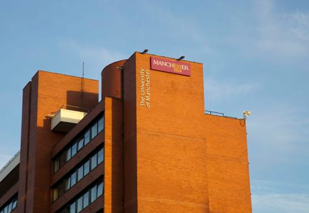 9. The University of Manchester's Cornbrook building in Booth Street West
