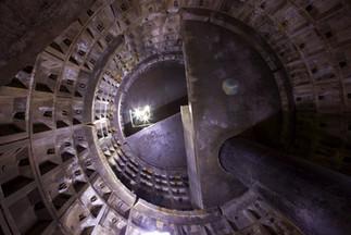 Inspection chamber, Medock culvert, Bradford