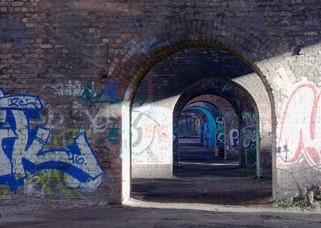Railway viaduct, Castlefield