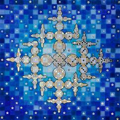 Lucky Star, 2015, 50x50cm