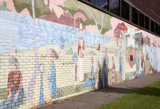 Mural, Victoria Park, Denton, Tameside