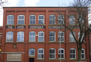 Hyde Equitable Co-operative Society building, Railway Street, Hyde