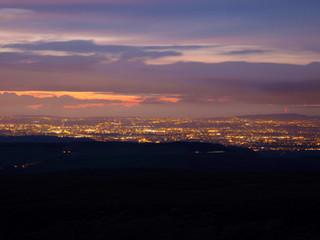 Manchester from Chunal Moor