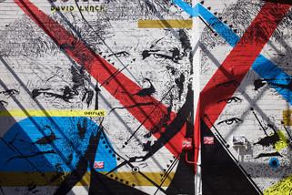 Chekos Mural, car park off Port Street, Northern Quarter