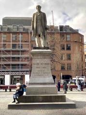 Oliver Heywood, Albert Square