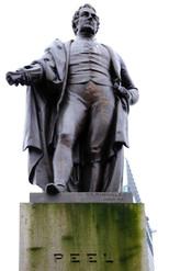 Sir Robert Peel, Piccadilly Gardens