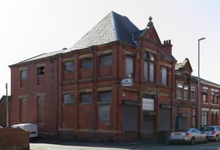 Former co-operative building, Chapel Road, Hollinwood, Oldham