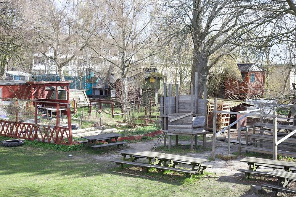 Emdrup adventure playground, Emdrup, Copenhagen