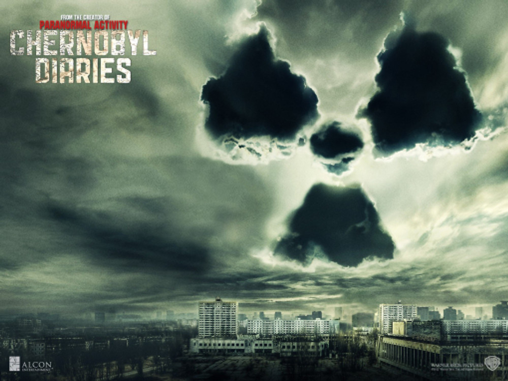 Publicity poster for the film 'Chernobyl Diaries' (2012)