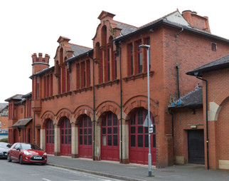 Former fire station, Windermere Road, Leigh, Wigan