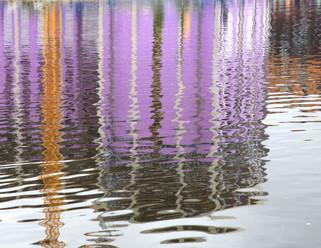 Reflections, Cotton Field, New Islington