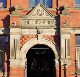 Council offices, Stockport Road, Levenshulme