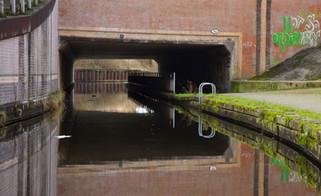 M60 motorway bridge, Rochdale Canal, Chadderton, Oldham