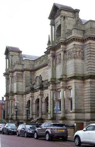 Bury Library, Manchester Road, Bury