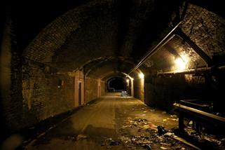 Former pedestrian subway under Victoria Station